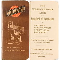 Columbian Exposition Railroad Booklet