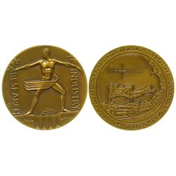 Official 1933 World's Fair Medal in Original Box with Original Wrapper