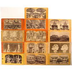1876 Centennial International Exhibition Stereoview Collection