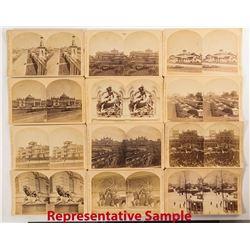 1876 Centennial International Exhibition Stereoviews: Exteriors (25)
