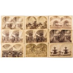 1876 Centennial International Exhibition Stereoview Collection: Interiors