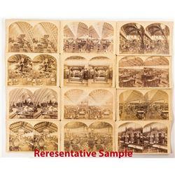 1876 Centennial International Exhibition Stereoviews: Interiors & Exhibits (25)
