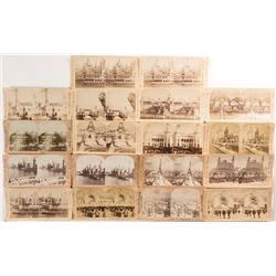 1900 Paris Exhibition Stereoview Collection