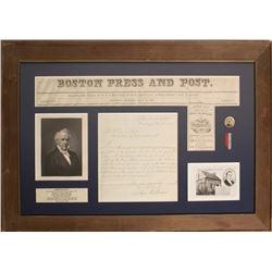 James Buchanan Signed Letter