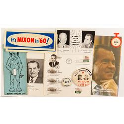 Richard Nixon Ephemera Lot