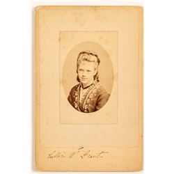 Iconic Nellie Grant Photo and Signature (U. S. Grant's only Daughter)
