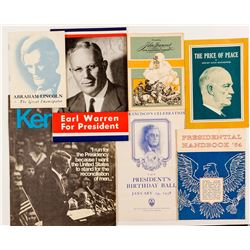 Presidential Booklets