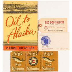 Alaska Animal and Oil Ephemera