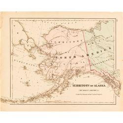 Map of Territory of Alaska