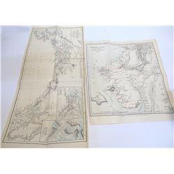 Two 1880s Maps of Alaska
