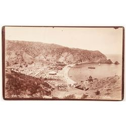 Catalina Island Cabinet Card by Waite
