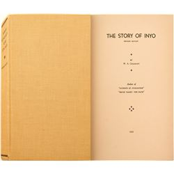 The Story of Inyo by Chalfant