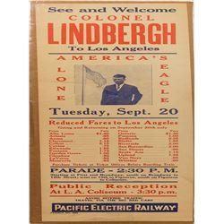Charles Lindbergh Broadside