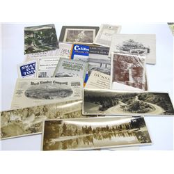 Collection of Mt. Shasta, CA Ephemera with RPC's