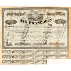 1858 Bond of the City and County of San Francisco