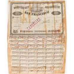 1859 Bond of the City and County of San Francisco