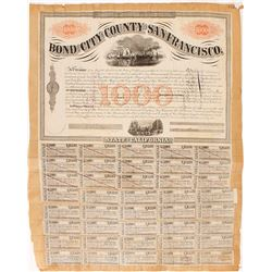 1864 Bond of the City and County of San Francisco