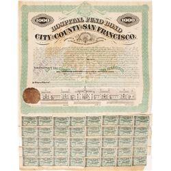1871 Hospital Fund Bond, City and County of San Francisco