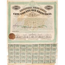 1871 Hospital Fund Bond, City and County of San Francisco