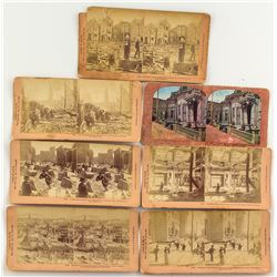 7 San Francisco Earthquake Stereographs