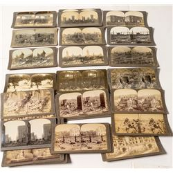San Francisco Earthquake Stereoview Collection
