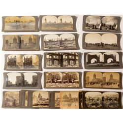 Second Large San Francisco Earthquake Stereoview Collection