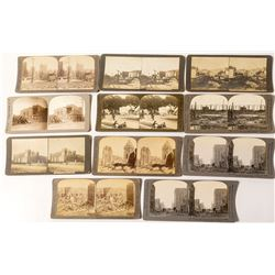 Small San Francisco Earthquake Stereoview Collection
