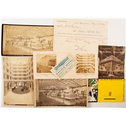 Palace Hotel Early Photos and Ephemera