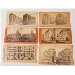Early San Francisco Hotel Stereoviews