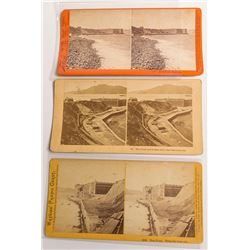 Fort Point, San Francisco, Stereoview Trio