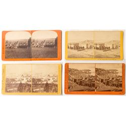 Four Nice Early San Francisco Stereoviews
