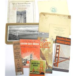 Golden Gate Bridge Ephemera