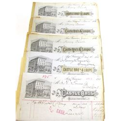 Castle Bros. Billhead Archive