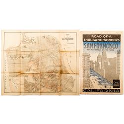 Early San Francisco Map and Booklet