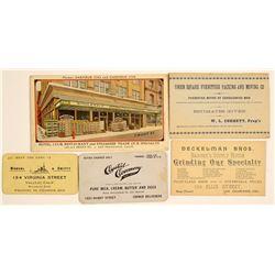 San Francisco Area Business Cards