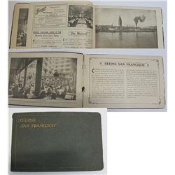 Rare Early San Francisco View Book