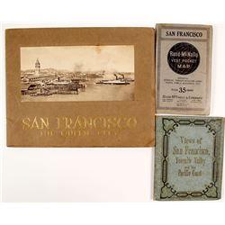 San Francisco Promotional Booklets & Pocket Map