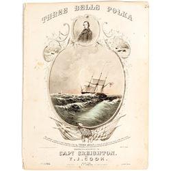 Three Bells Polka Sheet Music for Capt. Creighton, SS San Francisco Sinking