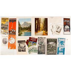 Yosemite Promotional Guides & Ephemera