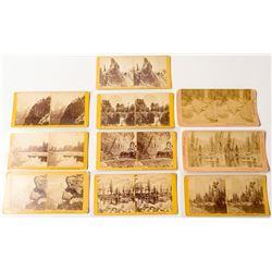 Yosemite Scenery Stereoview Collection: B.W. Kilburn
