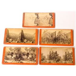 Yosemite Scenery Stereoview Collection: Taber c.1880