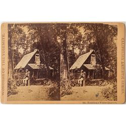 Yosemite Stereoview Collection: Hutchings' Winter Residence