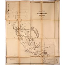 1855 Map of California