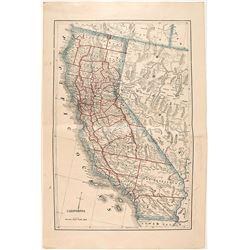 Map of California