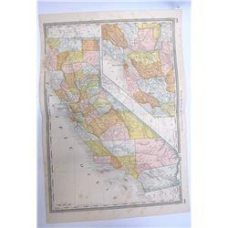 1885 Map of California