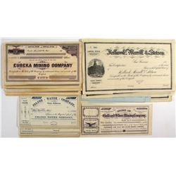 California Mining & Other Stock Certificates (55)