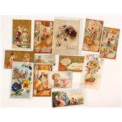 California & Western Trade Cards, c.1880-1890