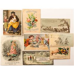 California Wine Country Trade Cards