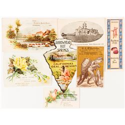 Southern California Trade Cards