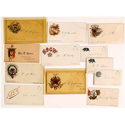 California Native Sons of the Golden West (NSGW) Cards plus Fireman's Card